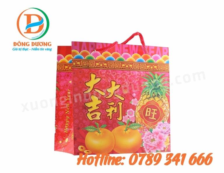 địa chỉ in túi quà tết lấy ngay tại Hà Nội