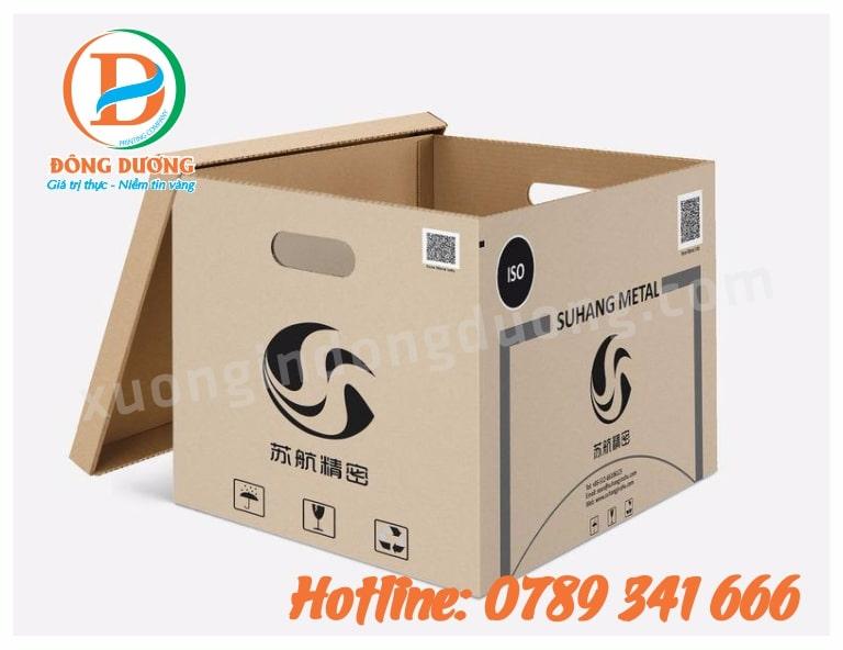 in thùng carton giá rẻ;