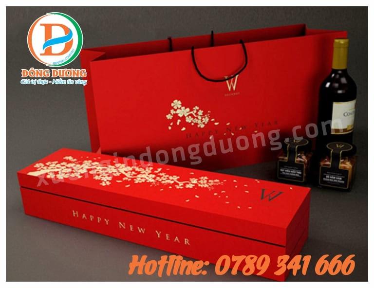 in túi quà tết lấy ngay tại Hà Nội