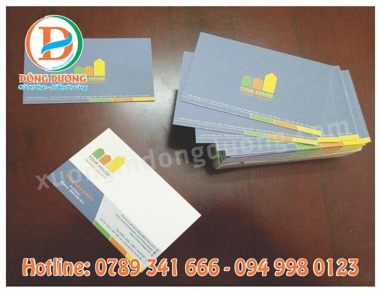 in card visit tai Nguyen Trai