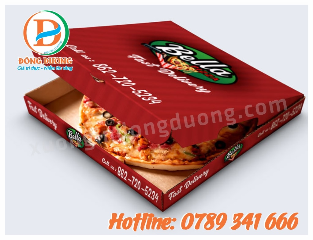 in hop pizza gia re tai Ha Dong