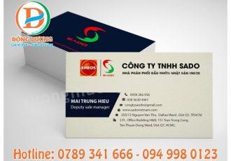 Xưởng in Danh Thiếp Name Card Số Lượng ít Giá Rẻ Tại Hà Nội