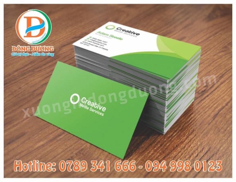 in name card gia re tai Thanh Xuan