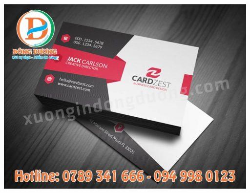in name card tai Thanh Xuan
