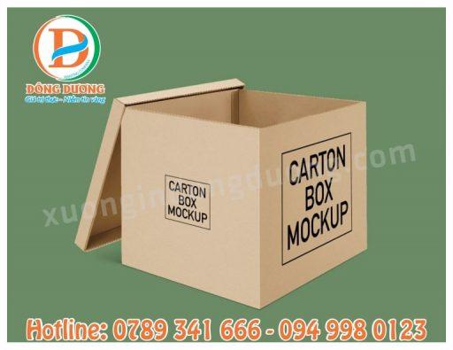 in thung carton so luong it tai Ha Dong